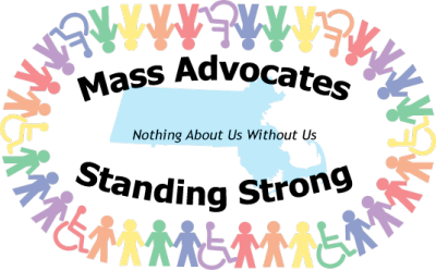 - Mass Advocates Standing Strong logo